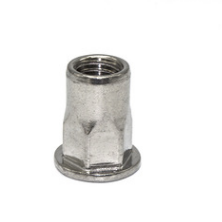 平头半六角型铆螺母标准件设计加工