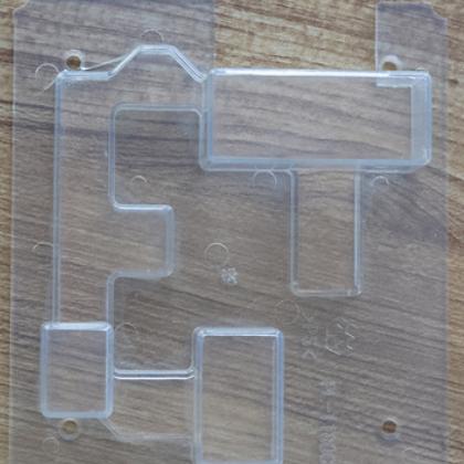 青岛注塑加工 透明PVC线路板罩 电脑板罩 线路板外壳