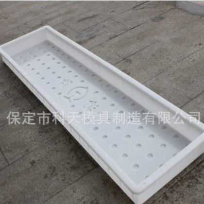 批发沟盖板塑料模盒定做电缆沟沟渠盖板塑料混凝土预制模具