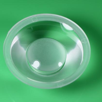 厂家直销LED光学透镜 COB50MM凹面透镜 PMMA单颗大功率LED透镜