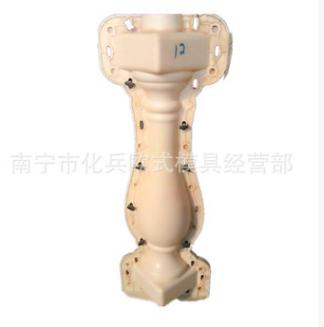 批发欧式水泥阳台花瓶模具 预制现浇阳台花瓶模具 欢迎来电