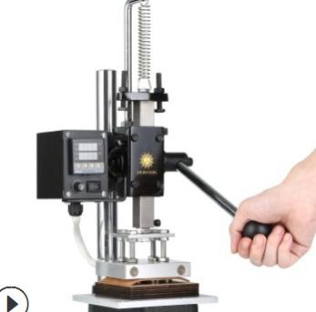金鑫阳小型烫金机手动热压模切烫印机皮革压唛机烙印机 厂家直销