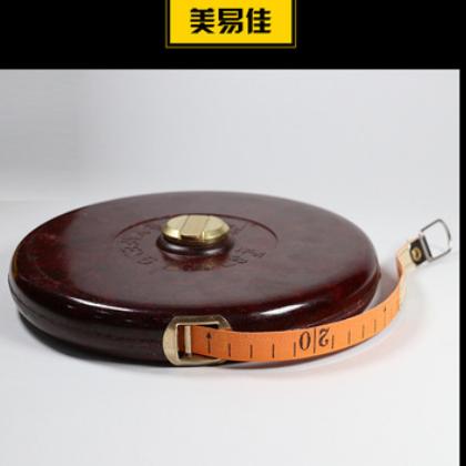 厂家供应高质量布尺50米皮尺工地测量工具防水尺带可贴牌定做