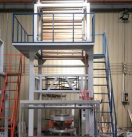 双层共挤高速吹膜机塑料吹塑机阴阳膜 黑白膜 烟草膜薄膜生产机器