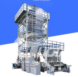 三层共挤薄膜吹塑机组(IBC膜泡内冷)PVC吹膜机 塑料吹膜机