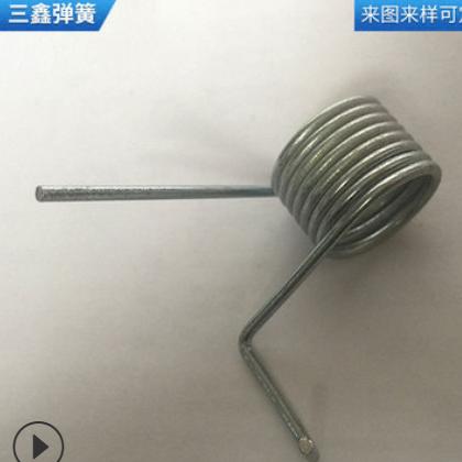 弹簧厂家专业定制精密扭力弹簧 镀锌扭簧 汽车锁具扭簧欢迎订购
