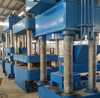 化工原料硫化机 1000吨双液压硫化机 橡胶硫化机液压机生产线