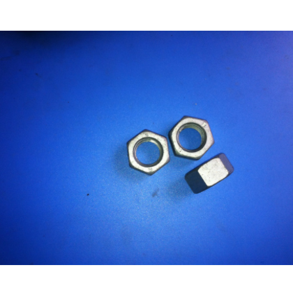 德制高强度高质量镀锌M5六角螺母