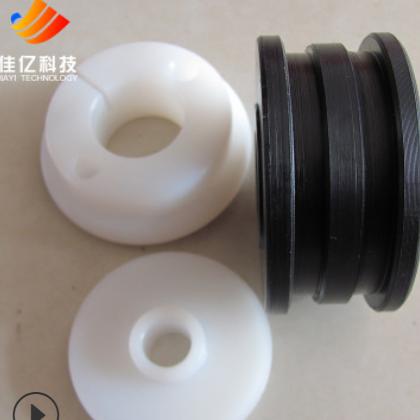 厂家直销超耐磨导轮超高分子量聚乙烯滚轮可定制耐磨耐高温