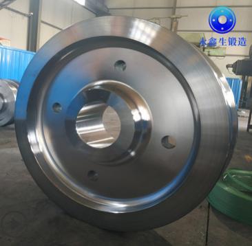 生产销售 起重机车轮 永鑫生车轮锻件 大型自由锻件 LD车轮