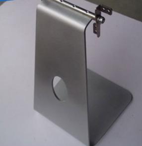 厂家提供电子产品五金转轴 一体机27寸电脑底座 金属成型冲压加工