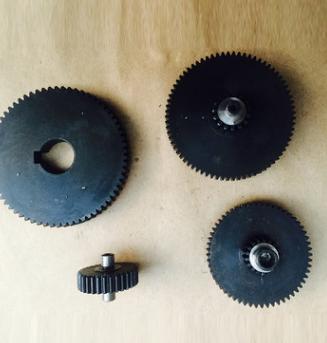 来样加工金属齿轮 电动执行器25 ,50型 高强度金属齿轮
