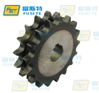 深圳08B-U2型盖板链条链轮 4分双排传动输送链轮 厂家加工定做