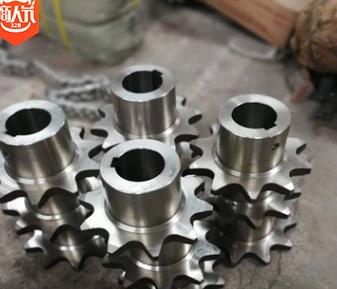厂家直销不锈钢链轮 45#驱动齿轮 加工非标链轮 分度圆标准