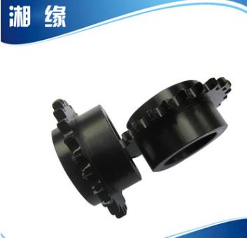 荐 厂家生产高精度4分工业齿轮链轮 矿山输送设备配件碳钢链轮