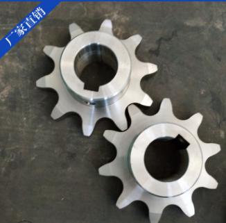 不锈钢传动链轮双切齿链轮品种齐全加工定制304双排/多排链轮
