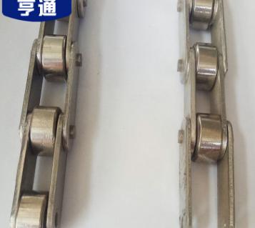 不锈钢异型链条弯板工业链条带侧导轮输送设备配件机械传动304链