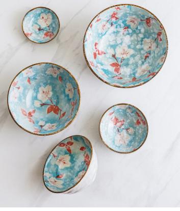 日式盘碗筷碟组合 家用2/4/6二人食餐具套装韩式情侣整套成套瓷器