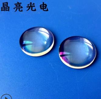 平凸透镜直径30焦距30.7光学镀膜镜片加工 厂家定制玻璃透镜