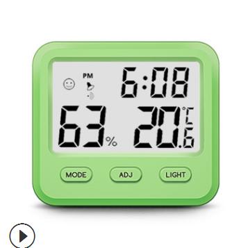 新品CH-915电子数显温湿度计 小型家居室内用高精度背光温湿度表