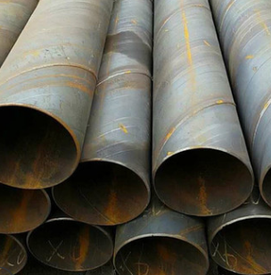 合肥螺旋管 螺旋钢管管道 广告牌立柱 大口径厚壁螺旋管 厂家直销