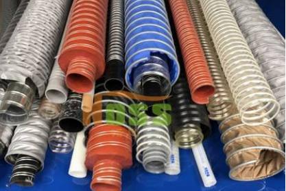 300度耐高温软管 300度耐高温排烟管道 耐热风管 阻燃通风管