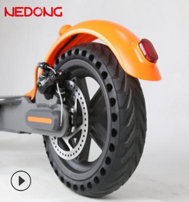 耐动8.5寸小米电动滑板车免充气轮胎81/2x2蜂窝实心胎防爆内外胎