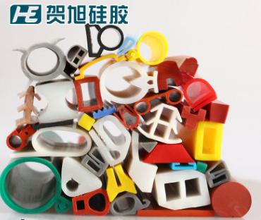 生产加工耐高温彩色食品级无毒无味硅橡胶密封条 硅胶条硅胶制品