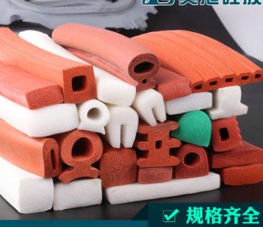厂家生产硅胶密封条,耐高温硅橡胶条,海绵硅胶发泡条,硅胶条