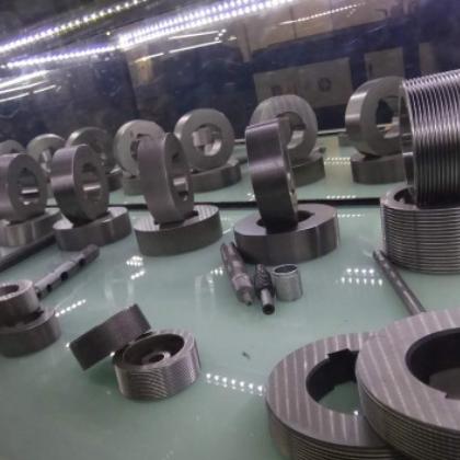 工厂自营万通滚牙机滚花模 25.4孔径 直纹P1.5滚花轮非标订做包邮