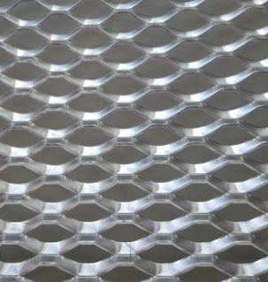 定制各种规格型号菱形金属网 低碳钢拉伸菱形网 拉伸网一件定制