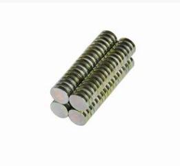 超强永磁 钕铁硼强力磁钢 镀锌镀镍磁片