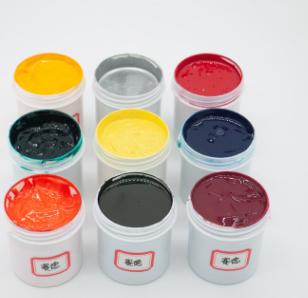赛德低温玻璃丝印黑白色油墨附着力好多种颜色样品装广东产地货源