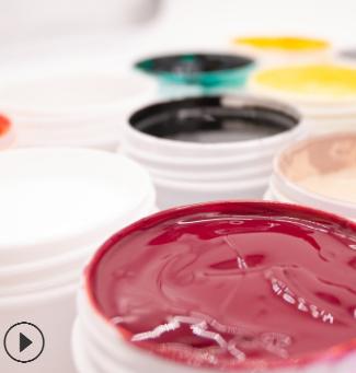 赛德高温钢化玻璃丝印黑白色油墨附着力好多种颜色样品厂家直销