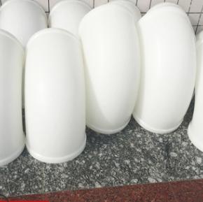 专业生产pp弯头白色成型PP风管弯头耐酸碱抗腐蚀成型pp弯头批发
