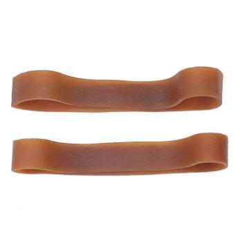 耐高温宽体本色橡皮筋 天然橡胶橡胶圈 O形橡皮圈加工定制