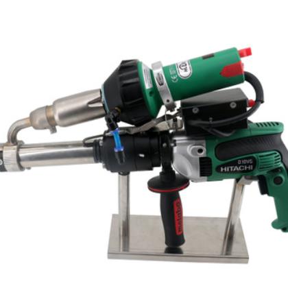 华莱特挤出式塑料焊枪塑料管道槽罐适用PEPP板材挤出式塑料焊接机