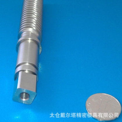 螺杆阀 精密回吸阀 电动液控系统零件 cnc车铣磨复合加工中心