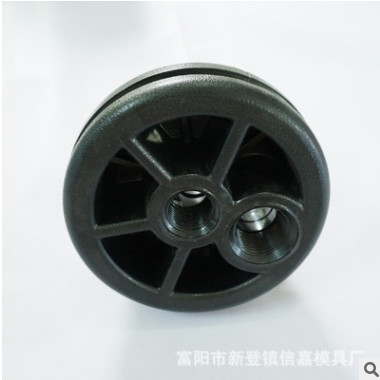 塑胶配件水处理设备 水管封头堵头 ABS塑料 衔接配件净水处理器材
