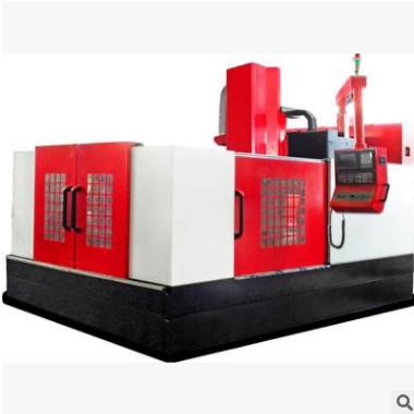 高速数控刀库雕铣机定制 半闭环式立式电动数控雕铣机 数控雕铣机