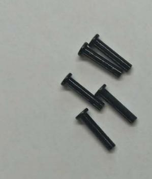 铆钉 国标半空心铁扁平头黑锌铆钉 机械连接紧固件定制碳钢铆钉