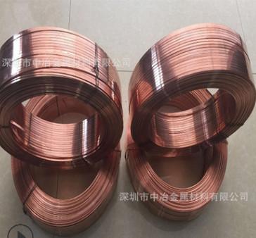 厂销T2红铜线 全软无氧紫铜线 3mm铆钉专用红铜线 定做红铜扁线