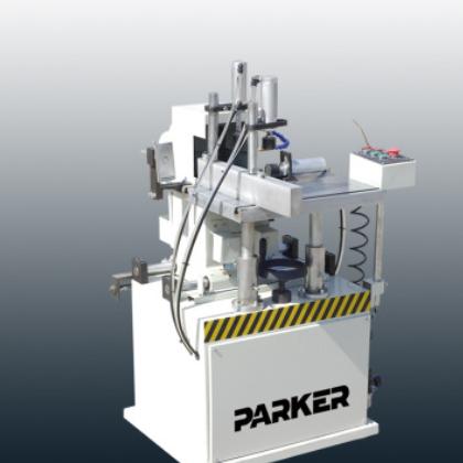 铝塑型材排料自动端面铣床门窗加工设备铝合金机械厂家派克机器
