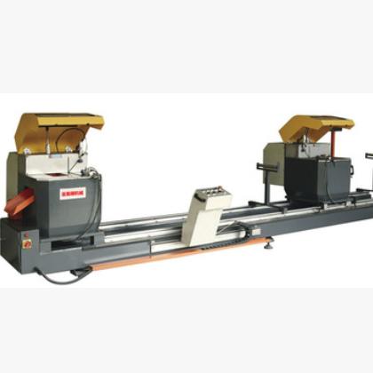 500精密数显双头锯 45度90度切割机 专业铝型材双头精密切割锯床