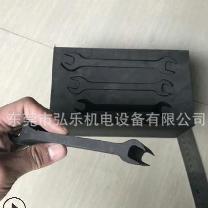 85毫米EVA五金件内衬激光切割机 包装厚材内衬内托激光切割省刀模