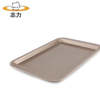 碳钢烤盘 长方形碳钢烘焙模具 家用烘焙烤盘烘焙器具 不粘曲奇盘