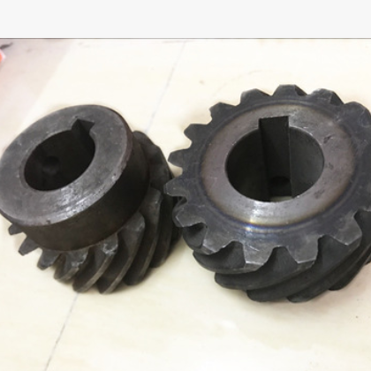 厂家直供转向齿轮 中镪打头机配件 全自动打头机配件 一对两件
