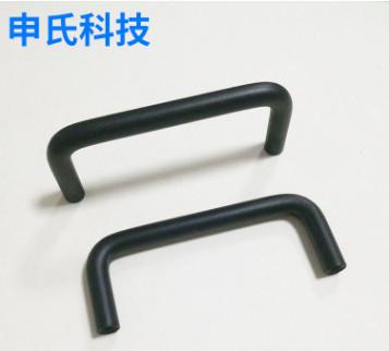 生产销售黑色铝合金拉手橱柜拉手 定制衣柜拉手抽屉拉手铝拉手