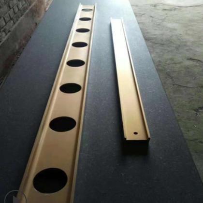 批发镁铝工字检验平尺 镁铝刀口尺直角尺 方筒形直线测量镁铝平尺