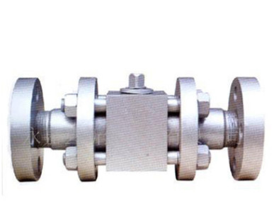 荐 三段式浮动高压球阀 不锈钢法兰连接浮动球阀 直通式电动球阀